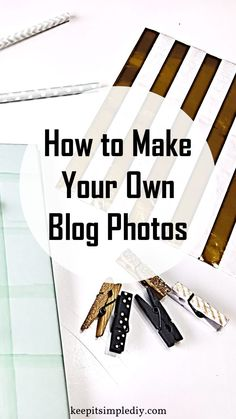 Creating your own blog photos or photo stock is very easy and inexpensive. This is great news since photos can get quite pricey. Here's what to do: Buy some blogging goodies. Things like paper clips, clothes pins, note pads, and anything else you would like to see in your photos. My favorite place to get … Make Your Own Blog, Make Blog, How To Start A Blog, Blogging For Beginners, Blogging Ideas, Make Money Blogging, Blog Tips, Gopro Hero 5, Dentistry