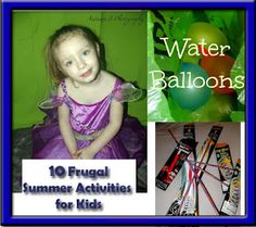 10 #Frugal #SummerActivities for Kids