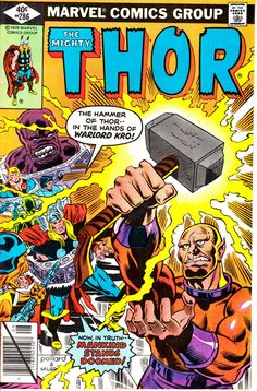 Thor 1962-1996 1st Series Journey Into Mystery 286  by ViewObscura