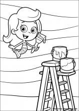 coloring page Bubble Guppies Nolan is going to love this Under