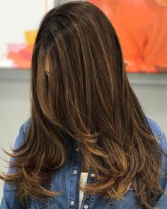 50 Ideas of Light Brown Hair with Highlights for 2020 - Hair Adviser - 50 Ideas of Light Brown Hair with Highlights for 2019 - Hair Adviser - Brown Auburn Hair, Brown Hair Cuts, Chestnut Brown Hair, Highlights For Dark Brown Hair, Brown Hair Shades, Brown Blonde Hair, Hair Color Highlights, Brown Hair Colors, Brunette Hair