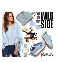"""""""Romwe contest"""" by albinnaflower ❤ liked on Polyvore featuring Chloé, NIKE, Christian Dior and CLUSE"""