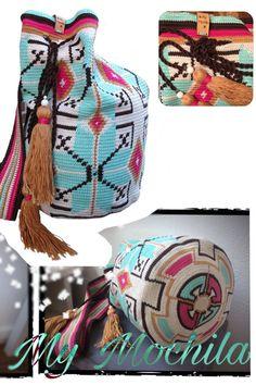 Op de Knit&knot namen we de tas voor het eerst mee. Er kwamen zo'n leuke reacties, dat de tas nu ook als haakpakket te bestellen is!  Bekijk het pakket: