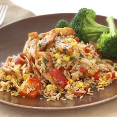 UNCLE BEN'S® | Easy Rice Recipes | Fiesta Chicken
