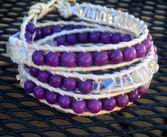 Chan Luu inspired purple and opalite by CristinaDavisJewelry, $25.00    REMINDER 10% OFF ALL MERCHANDISE AT CHECKOUT  USE COUPON CODE:  BRANDNEW
