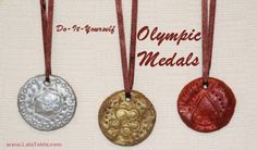 Baker's clay - Olympic Medals