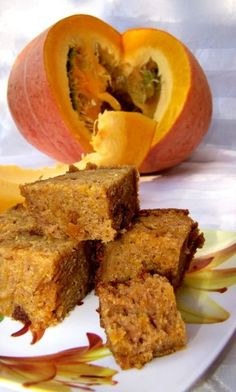 Ciasto z dyni: pyszne ciasto z dyni Pumpkin Recipes, Cake Recipes, My Favorite Food, Favorite Recipes, Food Cakes, Tortellini, Cornbread, Healthy Snacks, Food And Drink