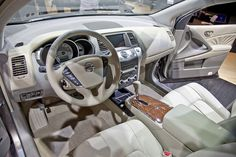 cars-inside the car   Auto Show Ultimate Production Winner: 2009 Nissan Murano ...