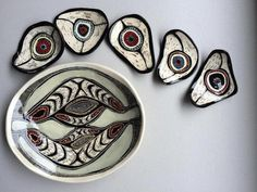 Penny Evans is an artist and studio potter based out of Lismore, NSW in Australia. She works in mixed media art and contemporary ceramics and the pieces that come from her kiln reference her Kamilaroi/Gomeroi heritage.