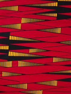 Red Ankara African fabric by the Yard Ankara fabric by the yard African print fabric wax print fabric cotton african wax print per yard