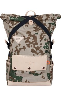 Atelier de l'Armée Series Backpack - check out the complete collection on www.atelierdelarmee.com