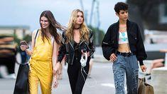 10 Best Women's Street Style Trends from Men's Fashion Week SS 17
