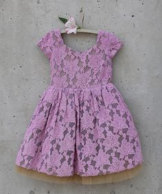 Look at this Plum Josephine Dress - Toddler & Girls on #zulily today!