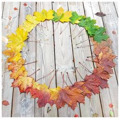 """693 gilla-markeringar, 29 kommentarer - DIY • ÅTERBRUK • PYSSEL (@vita_villan) på Instagram: """"Ordning och reda på höstens alla färger 🍁 #kreativoktobermedmiakinoko #ordningochreda"""""""