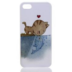 If I didn't have a special water-resistant, shock proof case on my phone, I'd get this Fish Kiss Phone Case from Meowingtons. TOO CUTE!