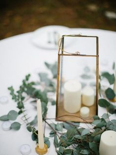 Image result for eucalyptus centerpieces