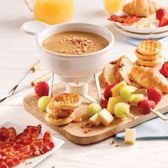 Fondue exquise au fromage et vin blanc - 5 ingredients 15 minutes Fondue Raclette, Buffet, Brunch, Dory, Chocolate Fondue, Mousse, Gluten, Pudding, Vegan