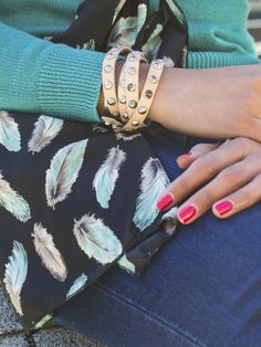 Spotted! Frock Candy scarf on I Want Your Look blog