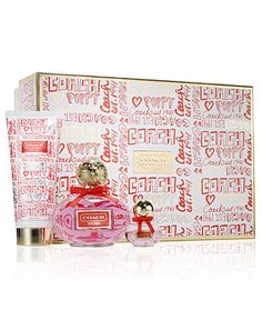 Coach Poppy Gift Set - Coach Perfume - Handbags & Accessories - Macy's