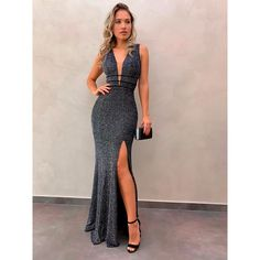 Cute Prom Dresses, Prom Outfits, Dressy Dresses, Elegant Dresses, Beautiful Dresses, Long Mermaid Dress, Mermaid Dresses, Sequin Party Dress, Evening Dresses