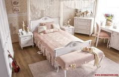cute teen room design for girls  Beautify Your Young Son's or Daughter's Bedroom According To Their Interest