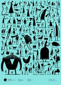 Illustrator and cartoonist Tom Gauld will be giving the next Typographic Circle Typo Talk on March Not only is this the chance to hear Gauld discuss his brilliant work, but you get a free poster too Character Illustration, Illustration Art, Living In London, Creative Review, Creative Art, Photoshop, Grafik Design, Character Design Inspiration, Doodle Inspiration