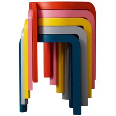 Spin now in colours, with upholstered seat and bar stool. A development of the Spin stool, which was awarded the Furniture of the Year award by Swedish magazine Sköna Hem. The low Spin stool now comes in five bright colours; petrol blue, grey, yellow, pink and orange, and naturally natural lacquer, white and black. Spin bar stool with seat height 65 cm, suitable for 90 cm high counters and kitchen islands, comes in the original colours ash wood natural lacquer, white- and black lazur finish…