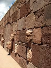 Inca civilisation - Tiwanaku Wall: Pre inca civilization established in the South of Peru, East of Bolivia and north of Chile.