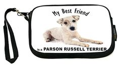 UKBK My Best Friend is a Parson Russell Terrier Dog - Neoprene Clutch Wristlet with Safety Closure - Ideal case for Camera, Cell Phone, Gameboy, Passp My Best Friend, Best Friends, Parson Russell Terrier, Terrier Dogs, Wristlets, Safety, Closure, Phone, Beat Friends