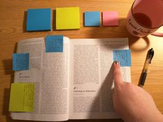 Note taking from txt book AND table of contents