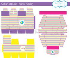 #Gráfica #Cumpleaños #Pajaritos #Packaging realizada para #CompañíadeFiestas