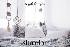 A Slumbr gift card lets Dad choose the comfiest pillow for better sleep.