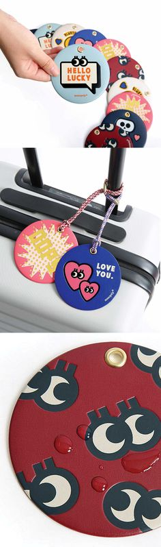 Finding my luggage at the airport can be troublesome cause they all look alike! But with the Merrygrin Travel Tag, I can instantly tell where my luggages are with super cute and colorful tags! There are a variety of designs, and makes me want to collect them all!