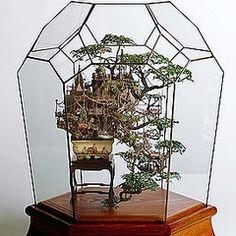 [画像] 海外でも大人気!ファンタジーな「盆栽ツリーハウス」って?