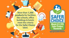#BacktoSchool is here! #EPASaferChoice label can help schools find products with safer ingredients. www.epa.gov/saferchoice
