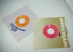 Lot of 2 45 Records: 1973 Redbone Epic & 1980 Robbie Dupree Elecktra