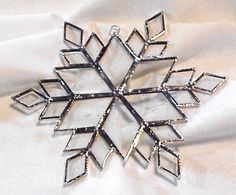 Stained Glass - Snowflake