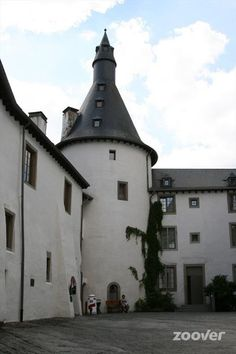 Clervaux Castle, Courtyard - Luxembourg