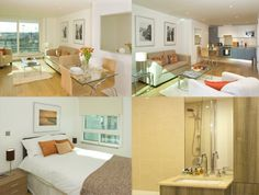 St Georges Wharf Apartments, Vauxhall, London