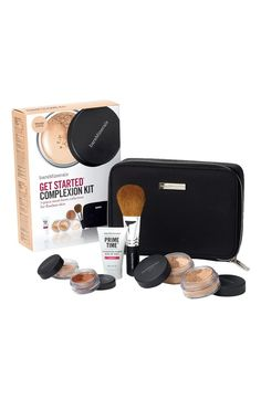 Everything you need to take the first step into a new makeup routine from bareMinerals | 'Get Started' Complexion Kit