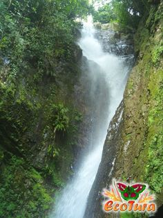 Cascada en Belén de Umbría. Risaralda. Colombia