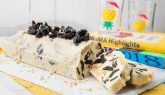 Κορμός λευκής σοκολάτας με δαμάσκηνα και αμύγδαλα, από την Madame Ginger! Greek Sweets, Healthy Deserts, Dessert Recipes, Desserts, Sweet Recipes, Cereal, Food And Drink, Dairy, Pudding