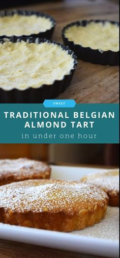How to Make a Traditional Belgian Almond Tart nice belgian food Tart Recipes, Almond Recipes, Baking Recipes, Sweet Recipes, Almond Tart Recipe, Desserts Français, Delicious Desserts, Dessert Recipes, Sweet Pie