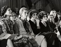 Nan Kempner Front Row 1974