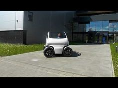 EO Smart Connecting Car 2 – Capable Of Shrinking & Driving Sideways! Car Starter, Quick Thinking, Innovation Centre, Smart Car, Concept Cars, Videos, Flexibility, Transportation, Automobile