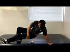 How To Mobilize Stretch Hip Muscles With Tennis Ball  https://www.facebook.com/TridoshaWellness   http://www.tridoshawellness.com/
