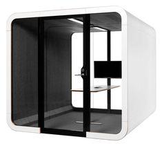 Framery 2Q Akoestische phonebooth | Werken in focus | Loff maatkantoren Creativity And Innovation, Design Awards, Acoustic, Engagement, Engagements