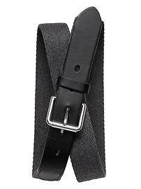 Flannel Webbed Belt. BR.