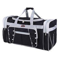 WIHVE Gym Duffel Bag Magic Cute Unicorn With Glitter Sports Lightweight Canvas Travel Luggage Bag