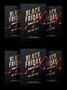 Sale Flyer, 50 Off Sale, Postcard Design, Flyer Template, Black Friday, Names, Templates, Stencils, Template